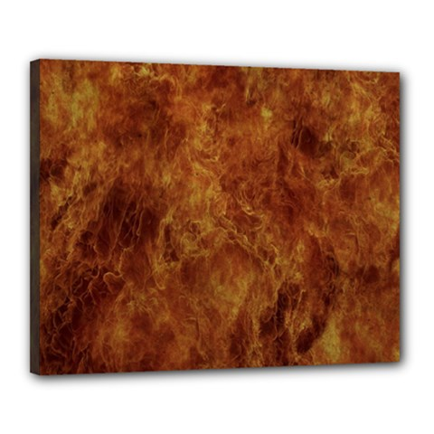 Abstract Flames Fire Hot Canvas 20  X 16