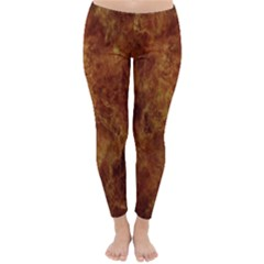 Abstract Flames Fire Hot Classic Winter Leggings