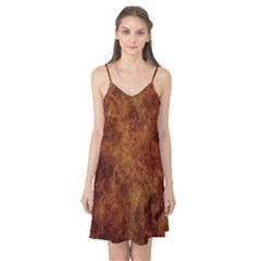 Abstract Flames Fire Hot Camis Nightgown