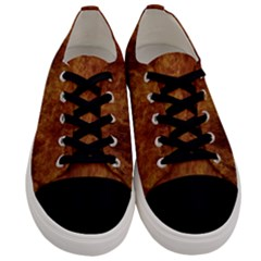 Abstract Flames Fire Hot Men s Low Top Canvas Sneakers