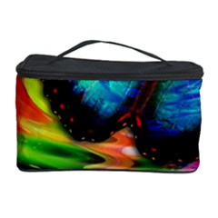 Blue Morphofalter Butterfly Insect Cosmetic Storage Case