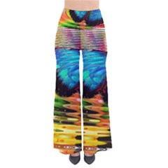 Blue Morphofalter Butterfly Insect Pants