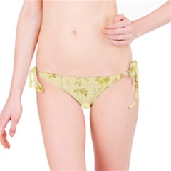 Floral Wallpaper Flowers Vintage Bikini Bottom