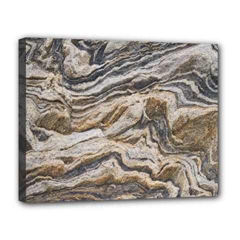 Texture Marble Abstract Pattern Canvas 14  X 11