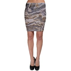Texture Marble Abstract Pattern Bodycon Skirt