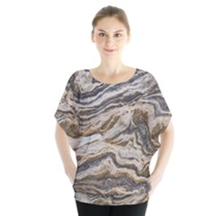 Texture Marble Abstract Pattern Blouse