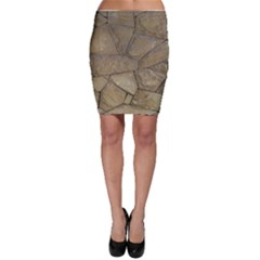 Brick Wall Stone Kennedy Bodycon Skirt