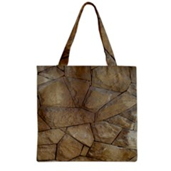 Brick Wall Stone Kennedy Grocery Tote Bag