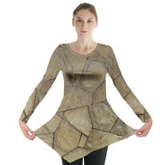 Brick Wall Stone Kennedy Long Sleeve Tunic