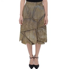 Brick Wall Stone Kennedy Folding Skater Skirt