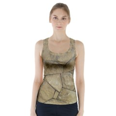 Brick Wall Stone Kennedy Racer Back Sports Top
