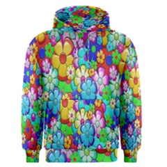 Flowers Ornament Decoration Men s Pullover Hoodie