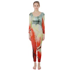 Fabric Texture Softness Textile Long Sleeve Catsuit