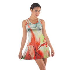 Fabric Texture Softness Textile Cotton Racerback Dress