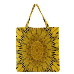 Pattern Petals Pipes Plants Grocery Tote Bag