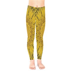 Pattern Petals Pipes Plants Kids  Legging