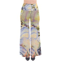 Flower Texture Pattern Fabric Pants