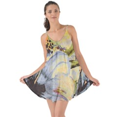 Flower Texture Pattern Fabric Love The Sun Cover Up