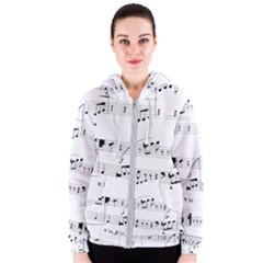 Abuse Background Monochrome My Bits Women s Zipper Hoodie