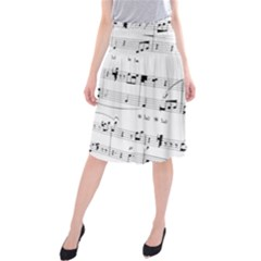 Abuse Background Monochrome My Bits Midi Beach Skirt