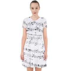 Abuse Background Monochrome My Bits Adorable In Chiffon Dress