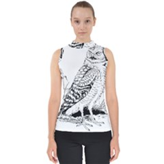 Animal Bird Forest Nature Owl Shell Top