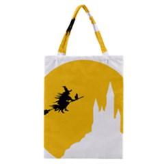 Castle Cat Evil Female Fictional Classic Tote Bag