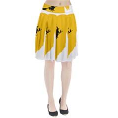 Castle Cat Evil Female Fictional Pleated Skirt
