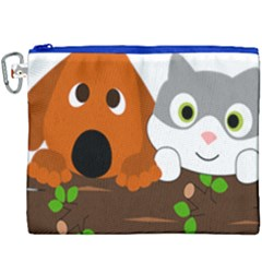 Baby Decoration Cat Dog Stuff Canvas Cosmetic Bag (xxxl)