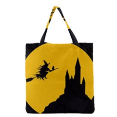 Castle Cat Evil Female Fictional Grocery Tote Bag