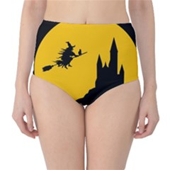 Castle Cat Evil Female Fictional High Waist Bikini Bottoms