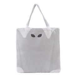 Ghost Halloween Spooky Horror Fear Grocery Tote Bag