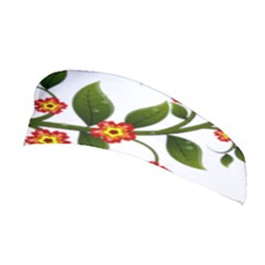 Flower Branch Nature Leaves Plant Stretchable Headband