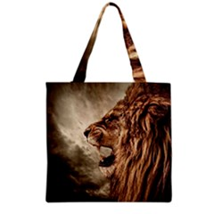 Roaring Lion Grocery Tote Bag