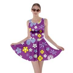 Floral Flowers Skater Dress