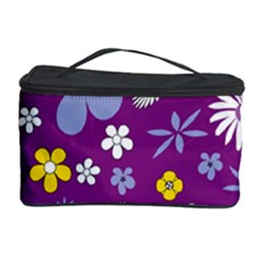 Floral Flowers Cosmetic Storage Case