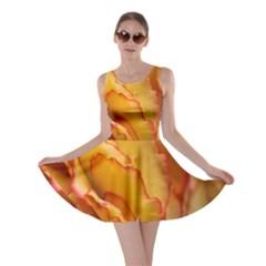 Flowers Leaves Leaf Floral Summer Skater Dress