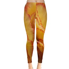 Flowers Leaves Leaf Floral Summer Leggings