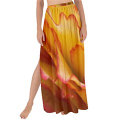 Flowers Leaves Leaf Floral Summer Maxi Chiffon Tie Up Sarong