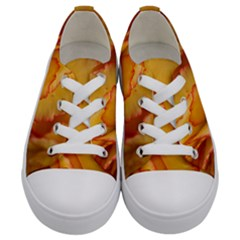 Flowers Leaves Leaf Floral Summer Kids  Low Top Canvas Sneakers