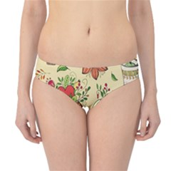 Colored Afternoon Tea Pattern Hipster Bikini Bottoms