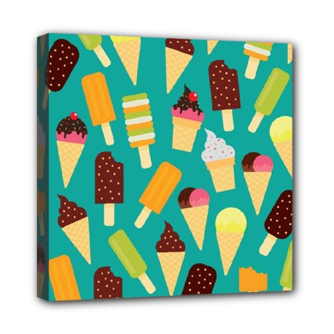Summer Treats Mini Canvas 8  X 8