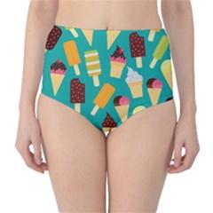 Summer Treats High Waist Bikini Bottoms