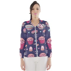 Afternoon Tea And Sweets Wind Breaker (women)