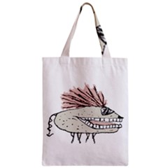 Monster Rat Hand Draw Illustration Classic Tote Bag