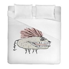 Monster Rat Hand Draw Illustration Duvet Cover (full/ Double Size)