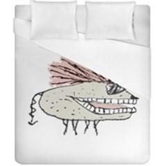 Monster Rat Hand Draw Illustration Duvet Cover (california King Size)