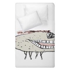Monster Rat Hand Draw Illustration Duvet Cover Double Side (single Size)