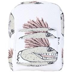Monster Rat Hand Draw Illustration Full Print Backpack