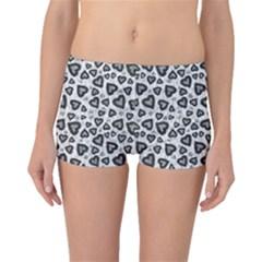 Leopard Heart 02 Boyleg Bikini Bottoms